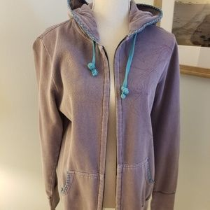 Roxy Zippered Sweatshirt- never worn